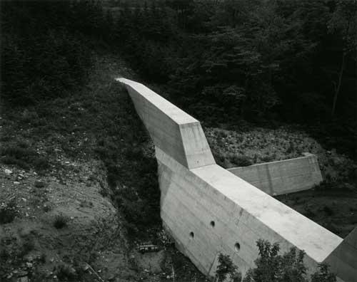 Toshio SHIBATA - #0007 堰堤 DAMS , 山梨県東山梨郡大和村, 1988 ,ゼラチン・シルバー・プリント