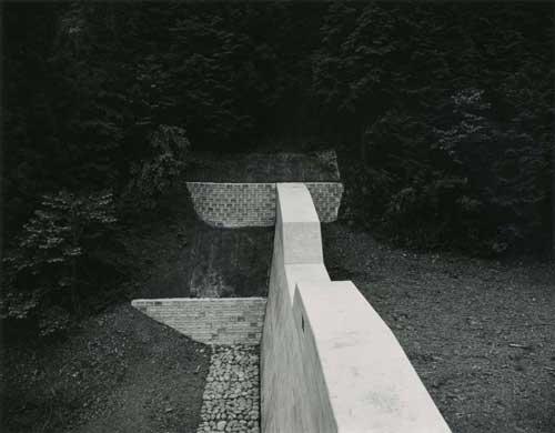 Toshio SHIBATA - #0029 堰堤 DAMS ,栃木県上都賀郡粟野町 , 1988 ,ゼラチン・シルバー・プリント
