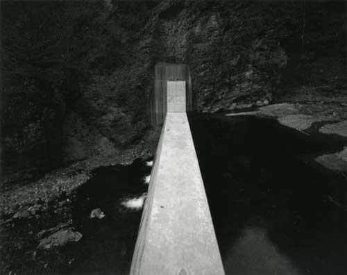 Toshio SHIBATA - #1267 堰堤 DAMS ,埼玉県秩父郡大滝村, 1994 ,ゼラチン・シルバー・プリント