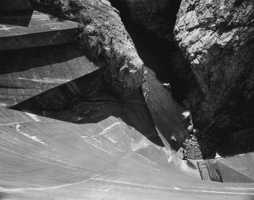 Toshio SHIBATA - #1856 MCA Chicago_Diablo Dam, North Cascade N.P, WA , 1996 , ゼラチン・シルバー・プリント