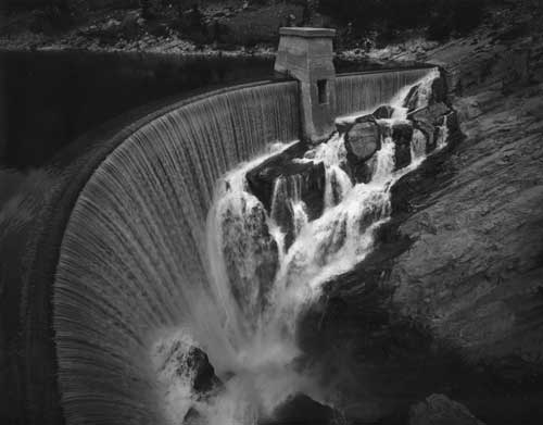 Toshio SHIBATA - #1905 MCA Chicago_Gibson Dam, Lewis and Clark County, MT , 1996 , ゼラチン・シルバー・プリント
