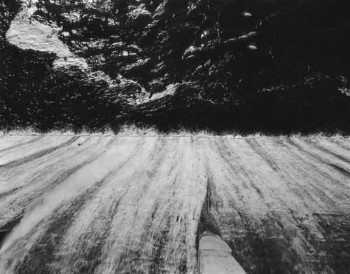 Toshio SHIBATA - #1916 MCA Chicago_Holter Dam, Helena, MT , 1996 , ゼラチン・シルバー・プリント