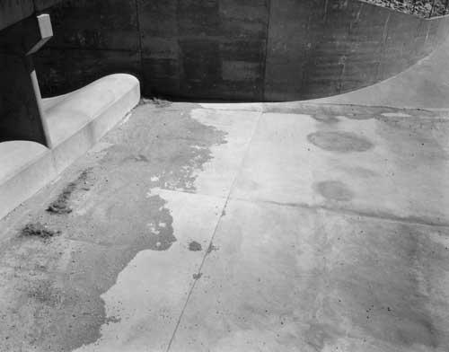 Toshio SHIBATA - #1931 MCA Chicago , Clark Canyon Dam, Beaverhead County, MT , 1996 ,ゼラチン・シルバー・プリント