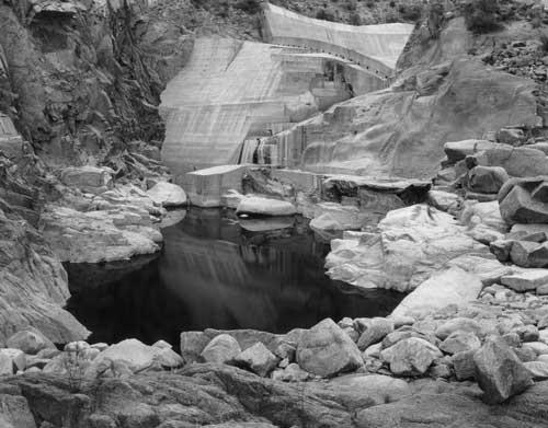 Toshio SHIBATA - #2145 MCA Chicago , Bartlett Dam, Maricopa County, AZ , 1997 , ゼラチン・シルバー・プリント