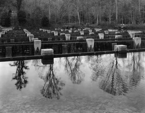 Toshio SHIBATA - #2312 MCA Chicago_Weir Dam, Sullivan County, TN , 1997 , ゼラチン・シルバー・プリント