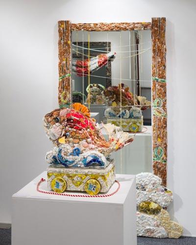 西ノ宮佳代個展 2012年「九十九の杜(つくものもり)」ギャラリー・アートアンリミテッド