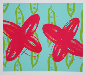 Mika YOSHIZAWA - わ-97(ネムの木の種) , 2007 , シルクスクリーン , 561×620mm , ed.50