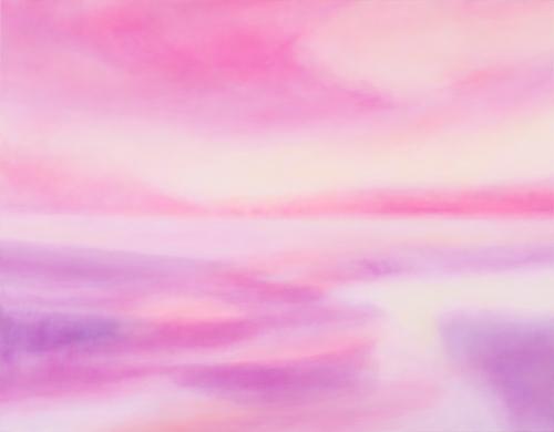富岡直子  光のあいだ  2015  アクリル、麻キャンバス、パネル  91×117 cm  (C) Naoko Tomioka, Photo (C) Hideto NAGATSUKA