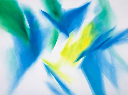 富岡直子  99-03  1999  アクリル、綿布、パネル  200×270 cm  (C) Naoko Tomioka, Photo (C) Tatsuhiko NAKAGAWA
