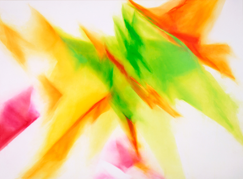 富岡直子  99-07  1999  アクリル、綿布、パネル   200×270 cm  (C) Naoko Tomioka, Photo (C) Tatsuhiko NAKAGAWA