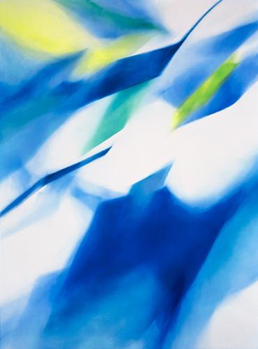 富岡直子  96-08  1996  アクリル、油彩、綿布、パネル  190×140 cm  (C) Naoko Tomioka, Photo (C) Ryoji TAKEMI