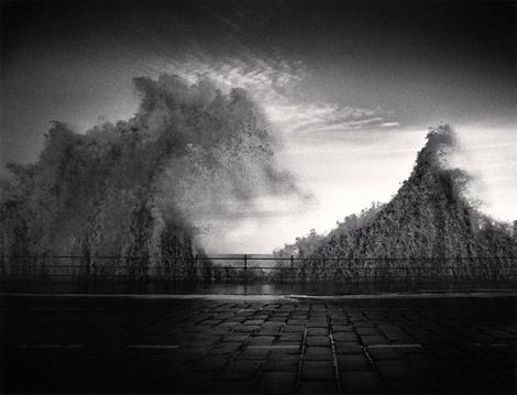 Wave, Scarborough, Yorkshire, England. 1981