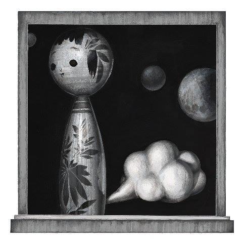 Meo Saito - 韻風星(いんぷうせい), 2014, 20.1×20.3cm シート32x32cm, シルクスクリーン、紙  12版12色