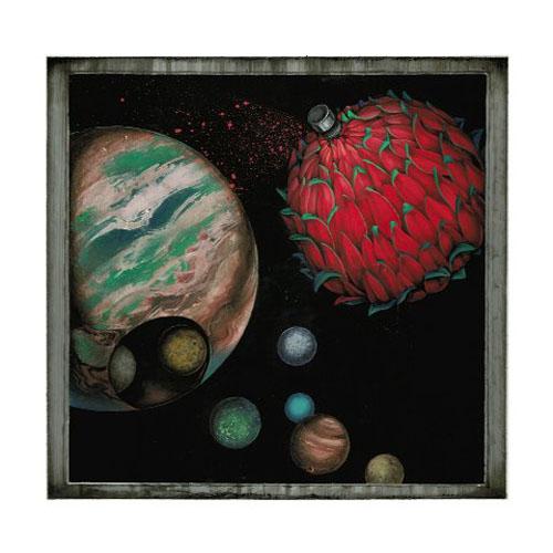 齋藤芽生 - 香星群アルデヒド「香霧星団」, 2014, 16x16.6cm, アクリル、紙