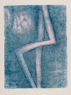 Toeko TATSUNO - 2011-P005   AIWIP-5  ed.1/30  2011  リトグラフlithograph on paper 70.0×53.5(81.0×60.0)cm