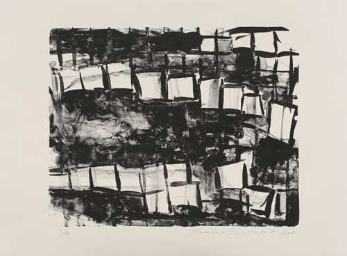 Toeko TATSUNO - 2011-P0010  AIWIP-10  ed.1/30  2011  リトグラフlithograph on paper 43.0×54.0(56.5×72.5)cm