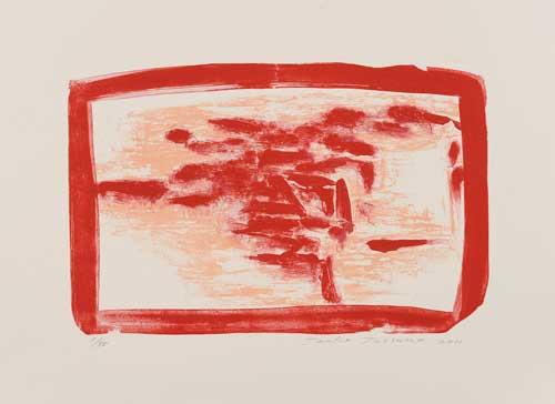 Toeko TATSUNO - 2011-P0011  AIWIP-11  ed.1/35  2011  リトグラフlithograph on paper 31.0×48.0(47.0×65.0)cm