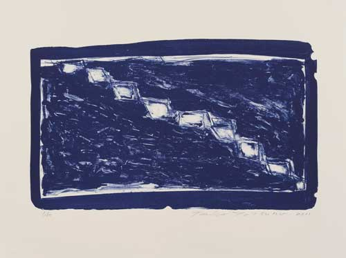 Toeko TATSUNO - 2011-P0012  AIWIP-12  ed.1/30  2011  リトグラフlithograph on paper 53.5×32.0(65.5×49.0)cm