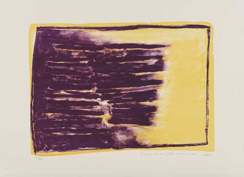Toeko TATSUNO - 2011-P0013  AIWIP-13  ed.1/40  2011  リトグラフlithograph on paper 38.0×53.0(52.5×72.0)cm