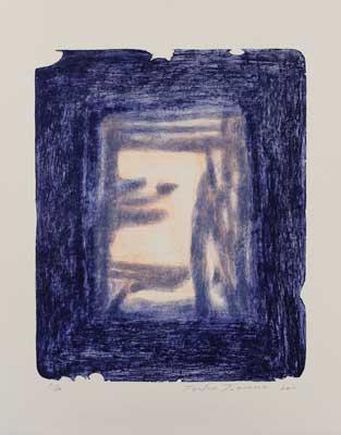 Toeko TATSUNO - 2011-P0014  AIWIP-14  ed.1/24  2011  リトグラフlithograph on paper 58.5×47.5(77.0×61.5)cm