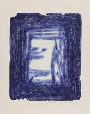 Toeko TATSUNO - 2011-P0015  AIWIP-15  ed.1/16  2011  リトグラフlithograph on paper 58.5×47.5(77.0×61.5)cm