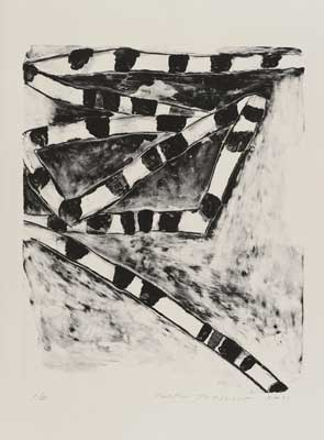 Toeko TATSUNO - 2011-P0016  AIWIP-16  ed.1/35  2011  リトグラフlithograph on paper 59.0×48.0(76.0×56.5)cm