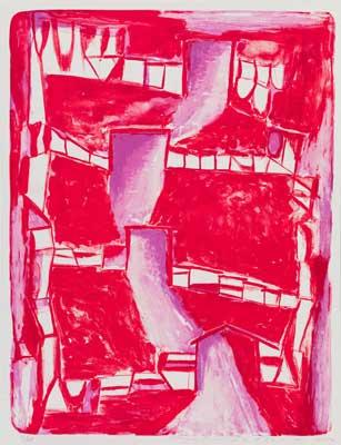 Toeko TATSUNO - 2012-P008 AIWIP-27  2012  リトグラフlithograph on paper 69.5×53.0(73.0×56.3)cm