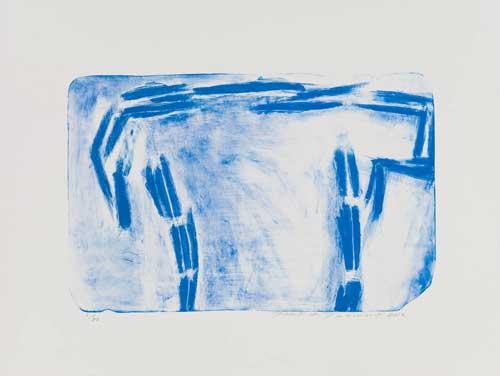 Toeko TATSUNO - 2012-P009  AIWIP-28  2012  リトグラフlithograph on paper 31.0×47.8(49.3×65.5)cm