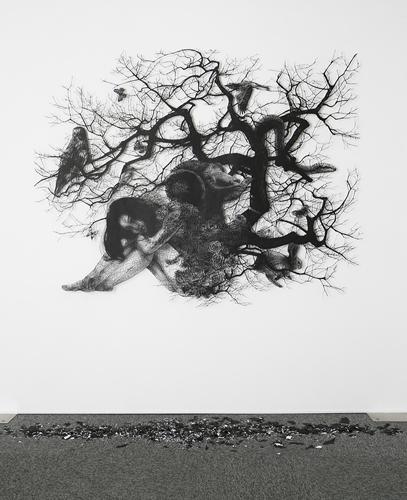 盛田 亜耶 「アダムの創造」 : ギャラリー・アートアンリミテッド