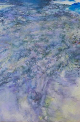 茂木たまな「雲 No.1 ーfrom上海ー」194.0cm×130.3cm(F120号)