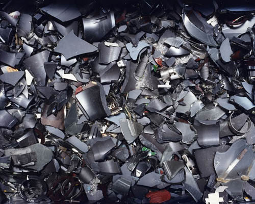 Eiji Ina - Waste, Chiba Prefecture (Smashed Small-size Speakers), 2000