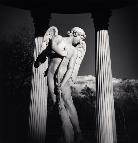 Michael Kenna - Cupid, Temple of Love, Versailles, France. 2010