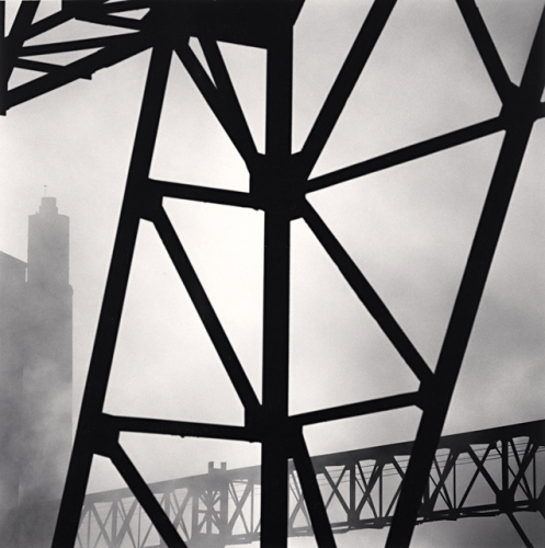 Michael Kenna - Factory Forms, Senlis, France. 1990