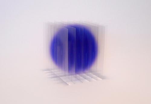 瀬川 剛  デッサン ヴォリューム: 紫 (大)2018ed.50インクジェットプリント、ポリエステル
