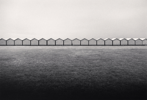Michael Kenna - Changing Huts, Brighton, Sussex, England. 1983