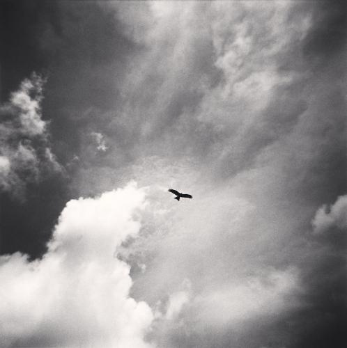 Michael Kenna - Kite and Clouds, Bangalore, India. 2008