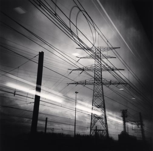 Michael Kenna - Thalys View, Brussels, Belgium. 2010