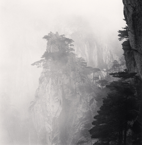 Michael Kenna - Huangshan Mountains, Study 56, Anhui, China. 2017