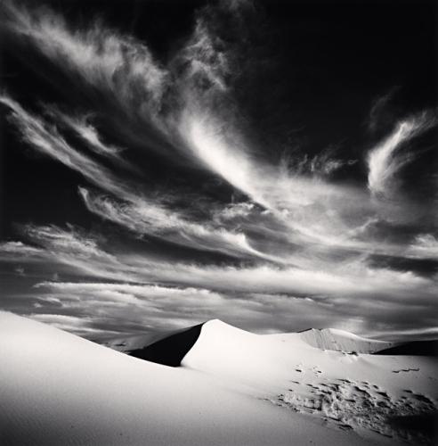 Michael Kenna - Desert Clouds, Study 2, Merzouga, Morocco, 1996