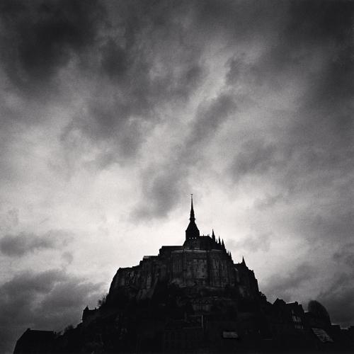 Michael Kenna - Eglise Abbatiale, Mont St. Michel, France. 1998