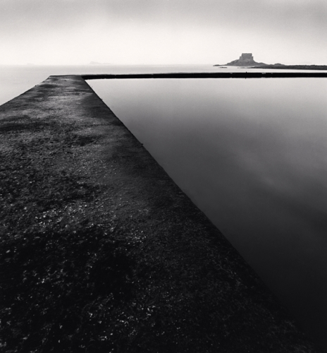 Michael Kenna - Pool Side, St. Malo, Brittany, France. 1993
