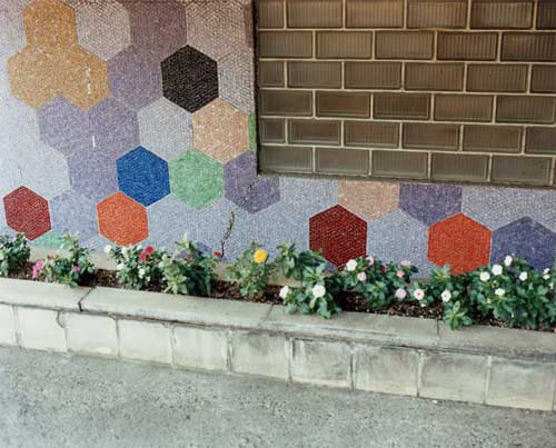 Yoko IKEDA - #986-08 Hexagon 東京都渋谷区 2012年 11x14インチ タイプCプリント