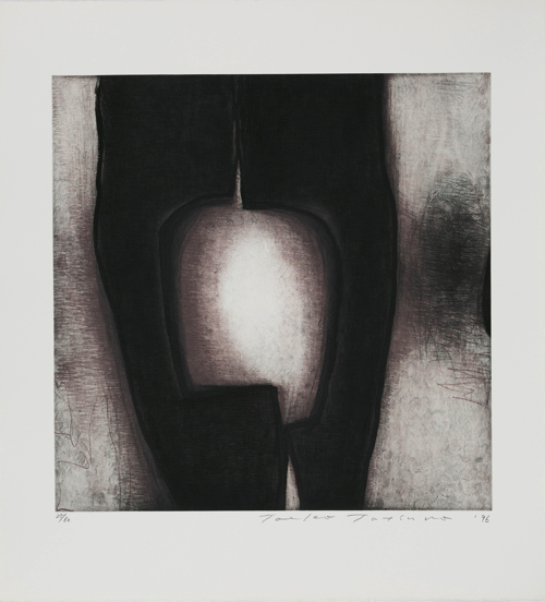 Toeko TATSUNO June-19-96 etching, aquatint