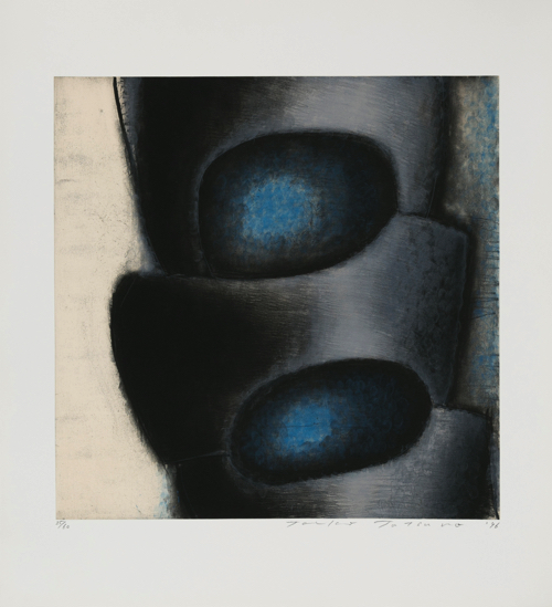 Toeko TATSUNO May-27-96 etching, aquatint