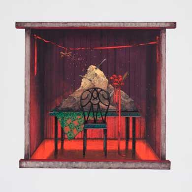 Meo SAITO - 晒野団地入居案内,愛の晩餐,2009