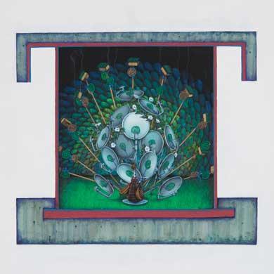 Meo SAITO - 晒野団地入居案内,愛の燻煙,2009