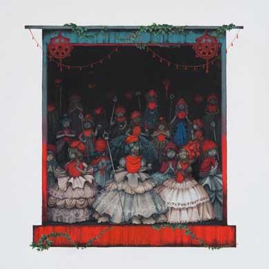 Meo SAITO - 晒野団地入居案内,愛の護神,2009