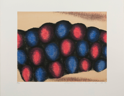 Toeko TATSUNO SPRING TO SUMMER Ⅵ etching, aquatint