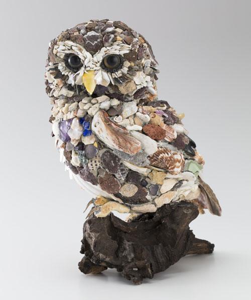 Kayo NISHINOMIYA ミネルヴァ・2 2015 18.2×17.5×20.4cm モザイク