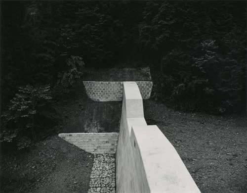 Toshio SHIBATA - #0029 DAMS ,Awano Yown, Kamitsuga County, Tochigi Prefecture , 1988 ,Gelatin silverprint